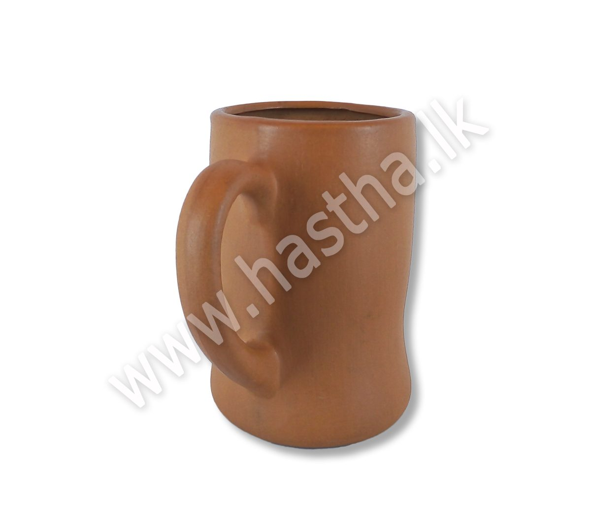 Plain Mug Red Clay Hastha Lanka Handicrafts